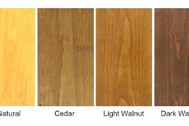 Furniture Stain Colors Chart Light Wood Stain Colors Eventize Co
