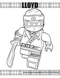 Coloring Page Ninja Lloyd Coloring Pages Ninjago Coloring
