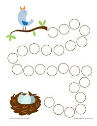 Springtime Themed Incentive Chart Stamp A Circle For