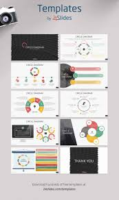 035 Circle Diagrams Presentation Template Pack From 24slides