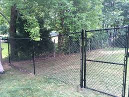 this is our outdoor dog play and potty area it is newly expanded and improved it is escape proof and almost an acre large as you can see the dogs have