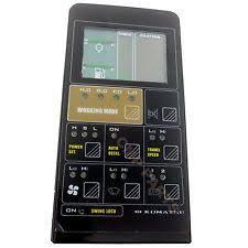 heavy equipment parts and heavy equipment machines in brand 7824 72 6100 komatsu pc300 5 lcd display panel monitor excavator instrument part