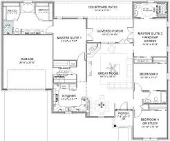 house plans with double master suites luxury house plans with three master suites of house plans