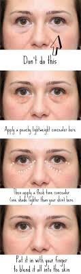 makeup tips to hide puffy under eyes