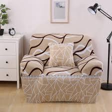 Bright Color Single Double Three Four Seat Striped Sofa Cover
