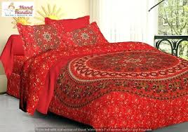 indian print duvet covers uk quilt cover bohemian bedding comforter mandala king size