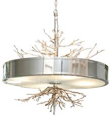 global views twig pendant nickel contemporary chandeliers