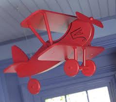 vintage hanging planes kids room
