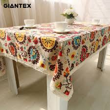 Small Picture Online Buy Wholesale bohemian tablecloth from China bohemian