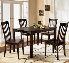 ashley furniture black dining room set