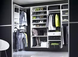 black and white walk in wardrobes modern design