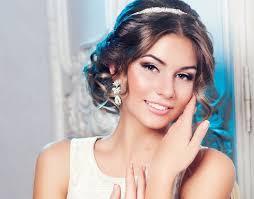 Elegance Ovládá Míč Nejkrásnější účes Pro Ples