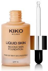 kiko cosmetics liquid skin second skin foundation