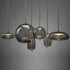 modern led pendant lights wrought iron