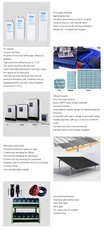 Wholesale KW High Power Solar Panels And Inverter For Home Use - Home solar power system design