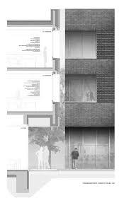 Fassadenschnitt Ansicht Schule M 120 Fassaden Fassadenschnitt