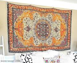 how to hang a rug on the wall with clips art like tapestry vintage rag rug walls