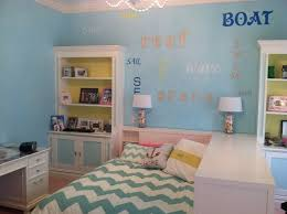 Beach Theme Teen Bedroom Contemporary