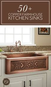 Kitchens With Farmhouse Sinks 15 Best Ideas About Copper Farmhouse Sinks On Pinterest Rustic