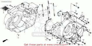 honda trx300 fourtrax 300 1991 m usa crankcase buy crankcase view large image