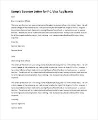 Visa Sponsorship Letter Demireagdiffusion Interesting Format For Sponsorship Letter
