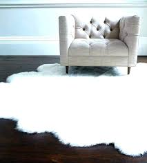 small round white fluffy rug post inspirational faux soft gy rugs sheepskin floor cream black