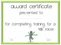 Fun Run Certificate Template Marathon Certificate Template 5 Fun Run Templates For Flyers