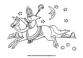 Luxe Kleurplaat Springend Paard Met Ruiter Klupaatswebsite