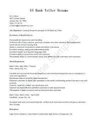 Resume Of Bank Teller Bank Teller Resume Examples The Proper Teller