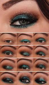 35 glitter eye makeup tutorials step by step poolside glitter dess