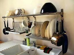 hanging dish drying rack hanging dish drying kitchen racks wall mounted dish drying rack india