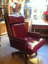 vintage leather office chair. Vintage Leather Executive Chair Office