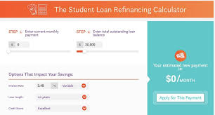 Multiple Student Loan Calculator How To Refinance Student Loans Nitro