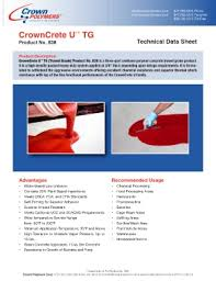Tg Catalog Page 171 Crown Polymers E Catalog