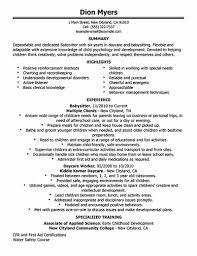 Nanny Job Description Resume Example 7 Gigiozanon Com