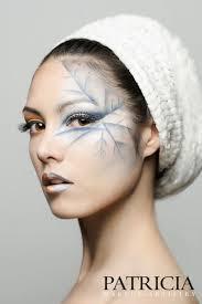 fantasy makeup character idea done like a skeleton leaf