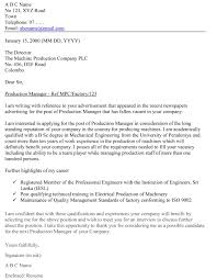 Cover Letter Speculative Application Cover Letter Speculative