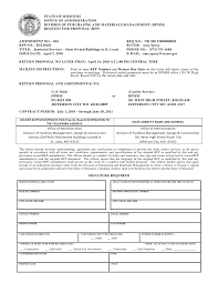 Official Documents Template Rfp Document Template