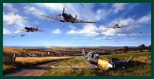 spitfire print. spitfire country by nicolas trudgian print t