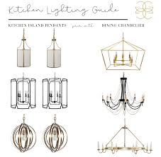 Kitchen Dining Light Fixtures How To Pair Kitchen And Dining Lights Gabby