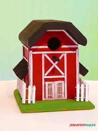 make an old rustic barn birdhouse with our free birdhouse plans diy birdhouse