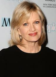 diane sawyer um layered hairstyle for women over 50