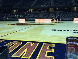 Courtside Seats At A Cleveland Cavaliers Basketball Game At