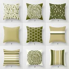 olive green pillows. Olive Green Pillows N