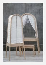 feminine furniture. private feminine desk covered with fabric canopy furniture l