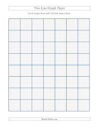 1 8 inch graph paper two line graph paper with 1 inch major lines and 1 8 inch minor