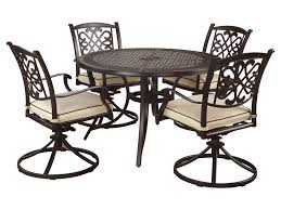 5 piece outdoor dining set. Signature Design By Ashley Burnella5-Piece Outdoor Dining Set 5 Piece
