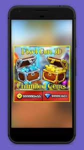 Unlimited Pixel Gun 3d Gems Prank - ApkOnline