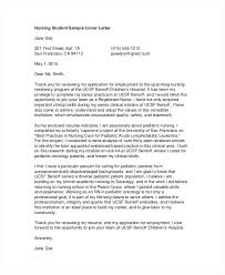 Sample Cover Letter For Rn Sample Cover Letters Nursing Nursing Student Cover Letter Nursing