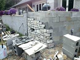 insulating concrete block walls ideas to cover concrete block wall interior cinder block wall covering image